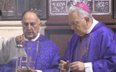 El Obispo preside la Misa Crismal que anticipa el inicio del Triduo Pascual