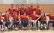 La selección española femenina de baloncesto en silla de ruedas se concentra en San Andrés