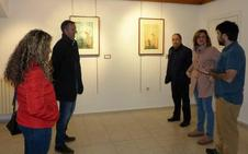 La Robla expone la obra del autor local Alejando Lorenzana durante Semana Santa