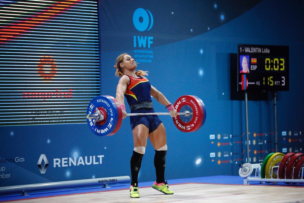 Lydia Valentín, campeona de Europa por cuarta vez
