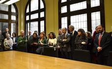 Los jueces y fiscales de León, 'en pie de guerra' por su independencia y una Justicia más ágil, eficaz y de calidad