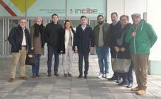Una delegación del PSOE de León y del Grupo Socialista en el Congreso visita el Incibe