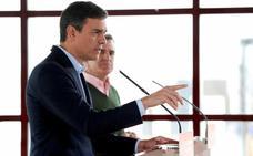 Pedro Sánchez: «Rivera traslada al PP su voluntad de que no gobierne Gabilondo»