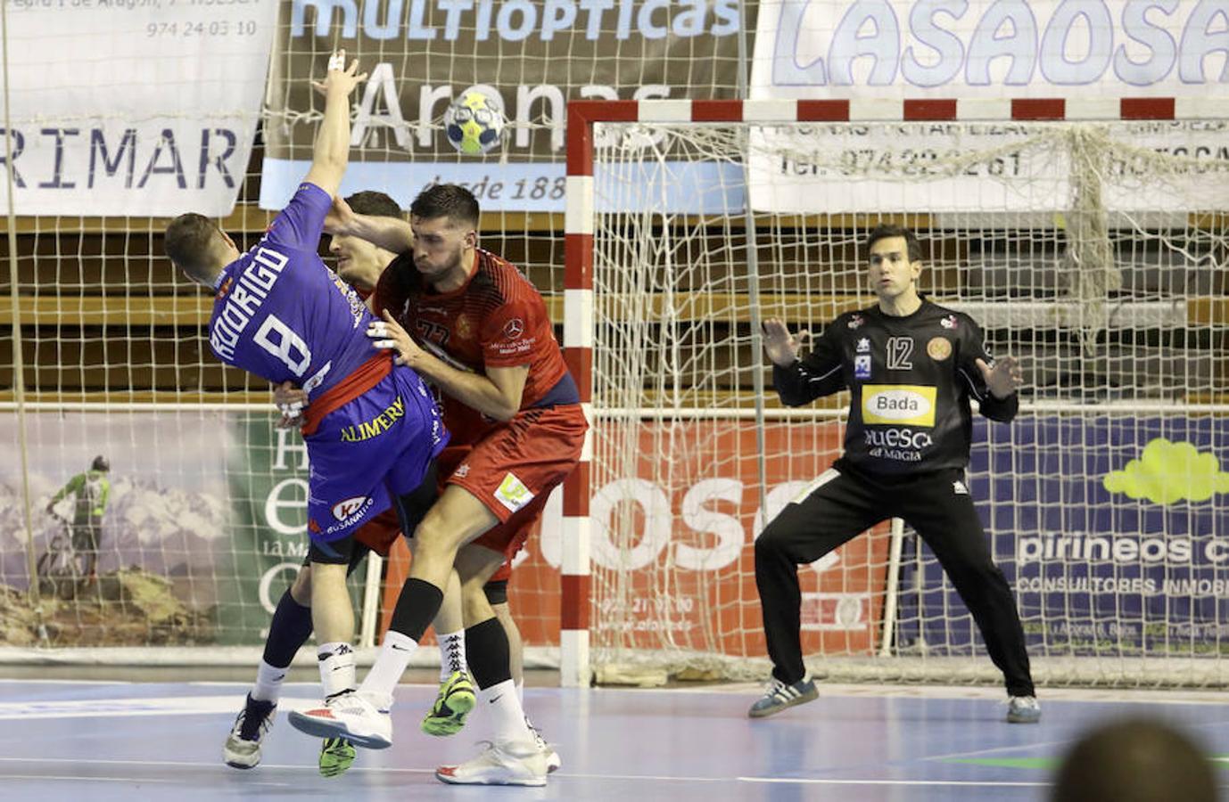 BM Huesca 21-25 Abanca Ademar