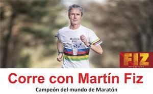 La Robla acoge al campeón mundial de maratón Martín Fiz
