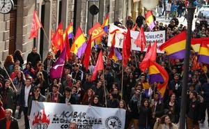 La tricolor ondea en León