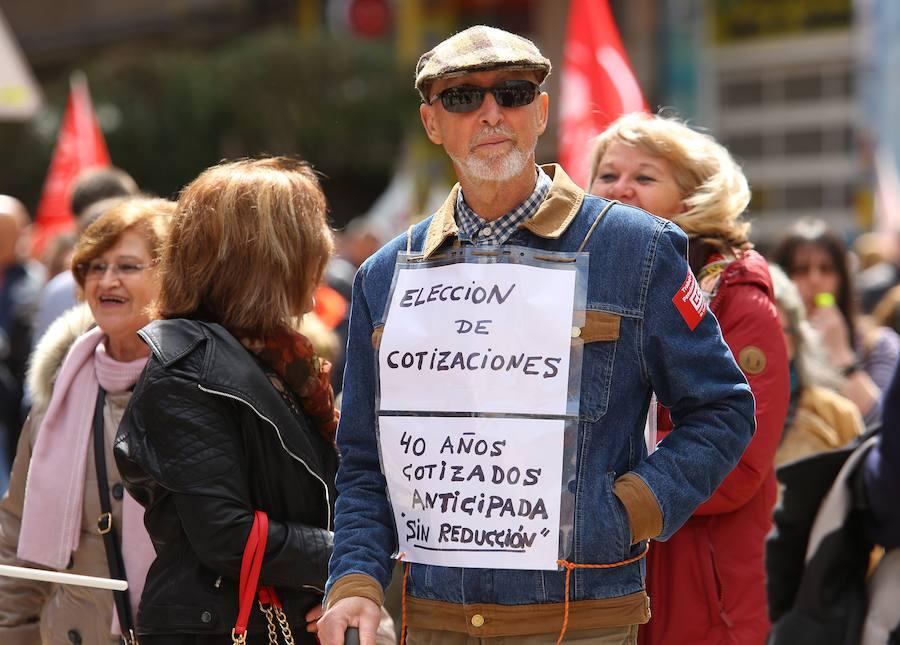 León y Ponferrada luchan por unas pensiones dignas