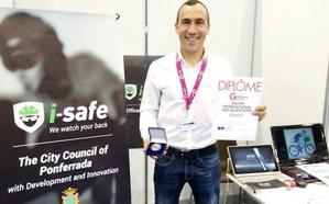 El ponferradino Iván Sánchez gana la medalla de plata en la Feria Internacional de Invenciones de Ginebra