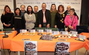 Los cocineros preparan sus mejores platos artesanales para la Feria de la Tapa de Villarejo de Órbigo