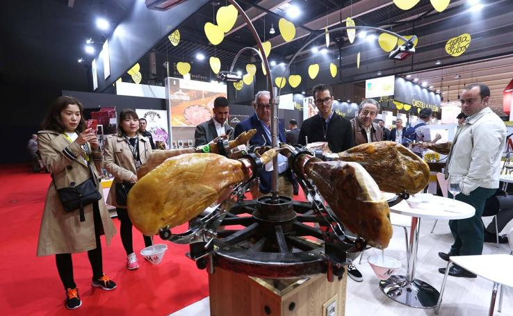 Expositor de Castilla y León en la Feria Alimentaria 2018