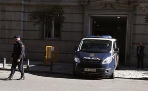 Junqueras y los Jordis denuncian en el Supremo ser víctimas de un proceso «político»