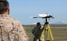 La OTAN testa en la base aérea de León el primer 'geodron', un arma tecnológica y cartográfica puntera