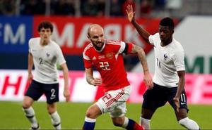 Rusia está dispuesta a colaborar con la FIFA en la investigación sobre gritos racistas