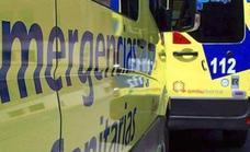 Un herido al caerse de la bicicleta y ser atropellado por un vehículo a las afueras de La Bañeza