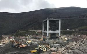 La Vasco escenifica la 'muerte' de la minería de interior, garantiza con 270.000 toneladas su actividad y mira con incertidumbre el 2019