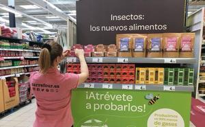 Carrefour lanza una gama de nuevos alimentos a base de insectos