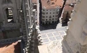 Leonoticias.tv | León visto desde la 'torre norte' de la Catedral