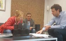 Villaquilambre, Garrafe y Matallana estudian vías de colaboración para mejorar servicios y ahorrar costes