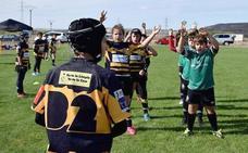 La Escuela León Rugby Club, presente en la concentración de la Federación en Palencia