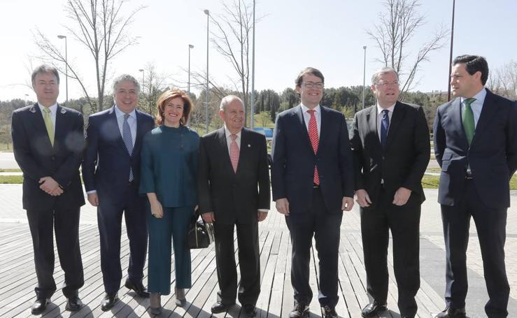 Invitados a la entrega de los Premios Castilla y León 2017