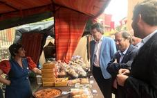 Almanza celebra con éxito su II Feria Medieval con 36 puestos en las calles del municipio