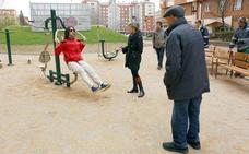 El Ayuntamiento de León habilita un circuito biosaludable en La Chantría