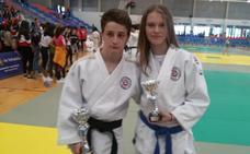 Una plata y un bronce leonesas en el Autonómico de judo