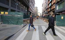 Merayo asegura que la ayuda de la Junta para las obras de la calle Camino de Santiago «no peligra»