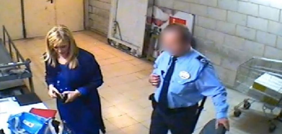 El vídeo del robo de cremas que precipitó la caída de Cifuentes