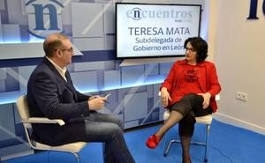 Teresa Mata: «¿Cifuentes?... Las mentiras tienen las patas muy cortas»