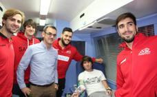 Donar sangre vale para ver al Ademar