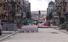 PP y Cs vencen el pulso a la oposición y Ordoño II reabrirá al tráfico y sin carril bici en dos meses