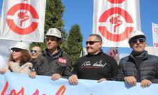 USO, en lucha, para que León siga siendo tierra minera y exigir una reindustrialización «potente»