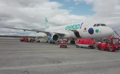 El Aeropuerto de León duplica el número de pasajeros registrados en los primeros meses del año