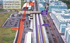 El ministerio ultima los tres proyectos que faltan para superar el 'fondo de saco' de León