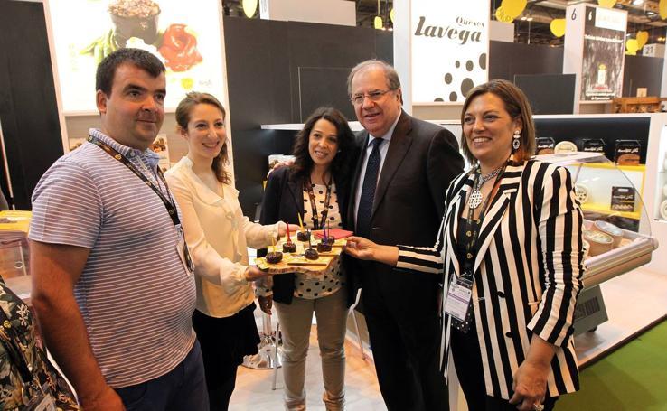 Juan Vicente Herrera visita el Salón de Gourmets de Madrid