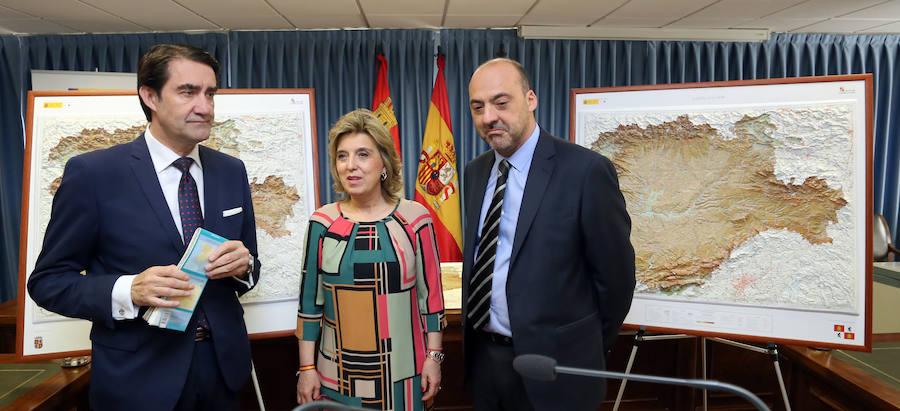 Presentación de los nuevos mapas autonómicos de Castilla y León