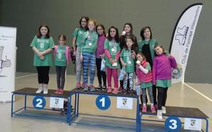 Cinco medallas para la Escuela de Patinaje de La Virgen en Valencia de Don Juan