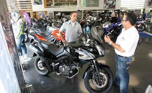 Una de cada cinco motos matriculadas en la provincia de León es de alta cilindrada