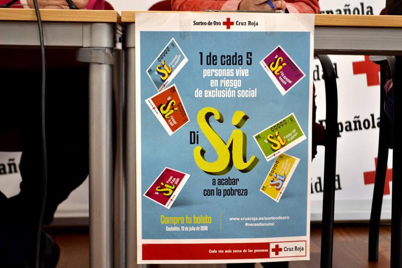 Cruz Roja León presenta el Sorteo de Oro