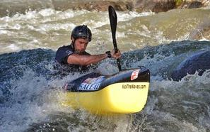 Guillermo Fidalgo, campeón de España de Piragüismo en Descenso en Aguas Bravas Sprint