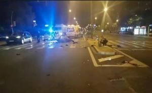Un fallecido y dos heridos muy graves tras una colisión entre una moto y un ciclomotor en Sevilla