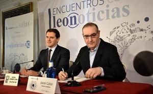 Ciudadanos aspira a tener candidatos «en la mitad de la provincia» y la 'fiebre naranja' llega a León con un incremento de afiliados del 3%