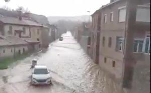 La Diputación abrirá la 'caja de emergencias' para actuar «de inmediato» en La Ercina y reparar los daños de la riada de abril
