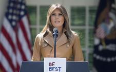 La operación de la primera dama, Melania Trump