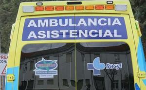 Herido un ciclista tras colisionar contra un coche en San Andrés del Rabanedo