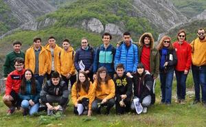 Estudiantes de la ULE visitaron la Reserva de la Biosfera del Alto Bernesga