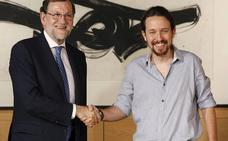 Rajoy se reunirá con Iglesias para abordar la crisis catalana