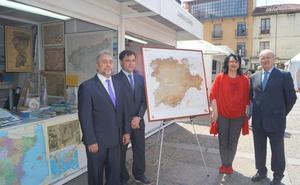 Teresa Mata preside la presentación del Mapa Cartográfico de Castilla y León elaborado por el Instituto Geográfico Nacional
