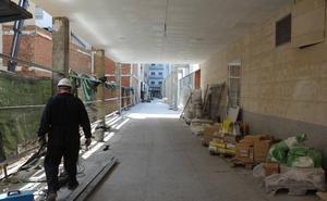 Así es el nuevo Pasaje 'Fernández Peña' que unirá la próxima semana Ordoño II con San Agustín tras dos años de obra